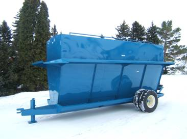 400 bu Bison Self-Feeder