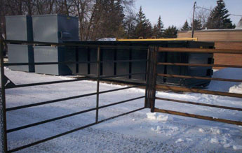 Swing gates come in sizes from 8 ft , 10ft, 12ft & 14ft